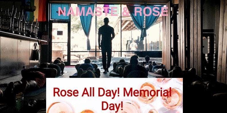 Namaste and Rose 2019