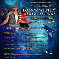 Dance with a Movie Star - Pablo Baez Hug in Osaka