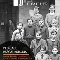 Ddicace de Pascal Burguin