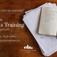 Taaltoets Training ELSA Leiden