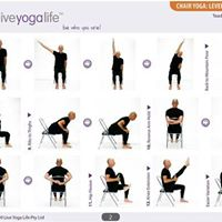Chair Yoga with Stacey-Thursdays 11am-12pm