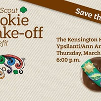 2018 YpsilantiAnn Arbor Girl Scout Cookie Bake-off Benefit
