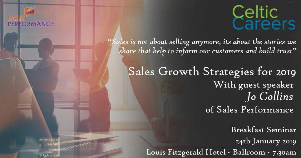 Sales Growth Strategies for 2019