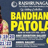 Rajshrungar from Rajkot live showcase of Bandhani &amp patola