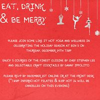 Eat Drink &amp Be Merry