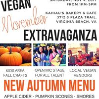 VEGAN November Extragavanza