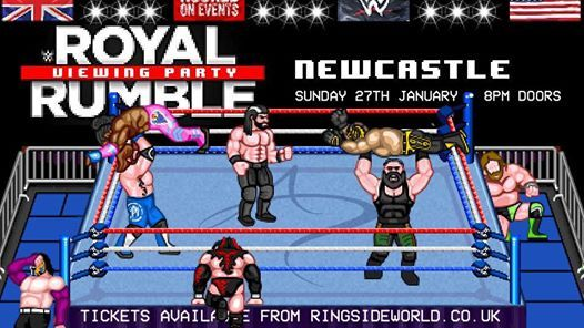 Newcastle WWE Royal Rumble 2019 Viewing Party