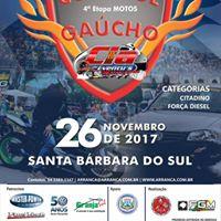 Arrancada - 4 Etapa Copa Sul Carros e 4 Etapa Gacho Motos