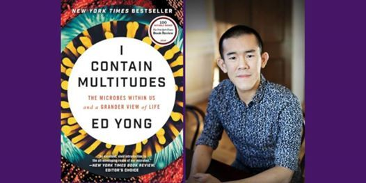 Microbes all around us An evening with science writer Ed Yong