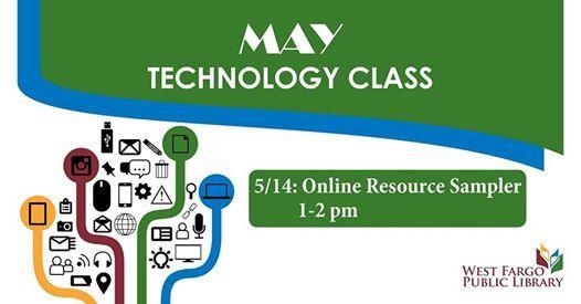Technology Class: Online Resource Sampler at West Fargo Public
