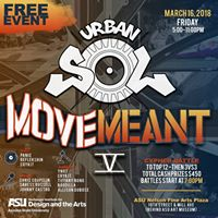 URBAN SOL presents MOVEMeant V