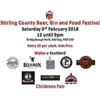 Stirling County Beer Gin &amp Food Festival