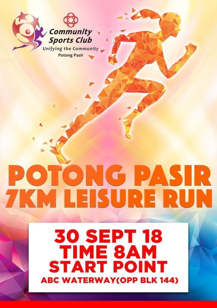 Potong Pasir 7KM Leisure Run