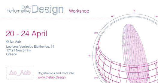 Data Performative Design  20 - 24 April