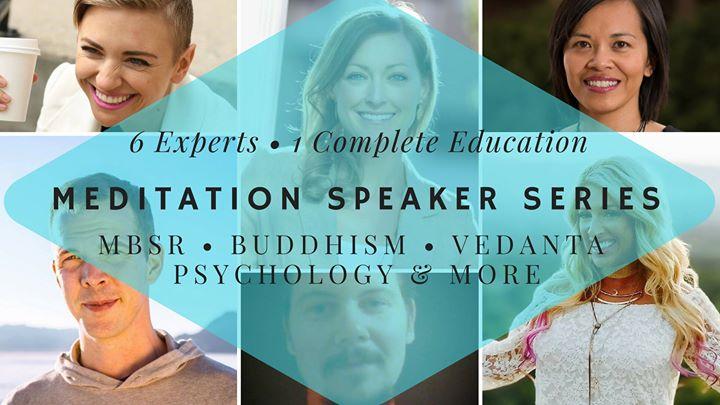 Meditation Speaker Series ( Meditation Teacher Training)