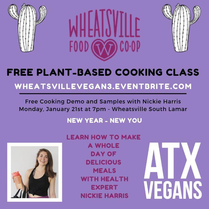 Free Cooking Class at Wheatsville