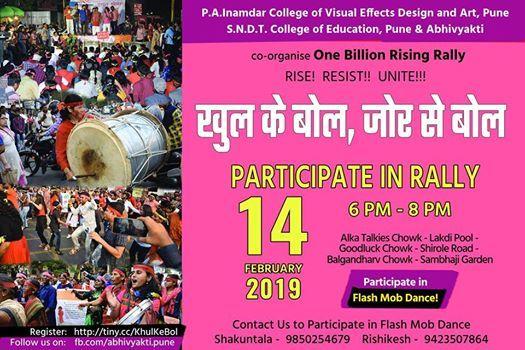 One Billion Rising OBR Pune