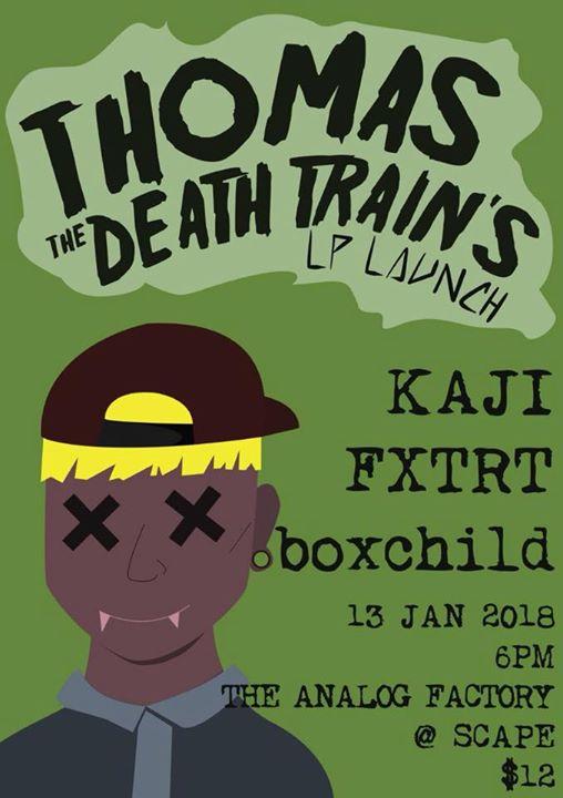 TTDT Album Launch with Kaji FXTRT & boxchild