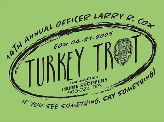 2018 Ofc  Larry R  Cox 14th Annual Turkey Trot at Southern
