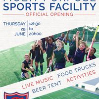Official Opening of the Prep Multi-Purpose Sports Facility