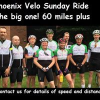 Phoenix Sunday Ride - To Rosliston 60 miles