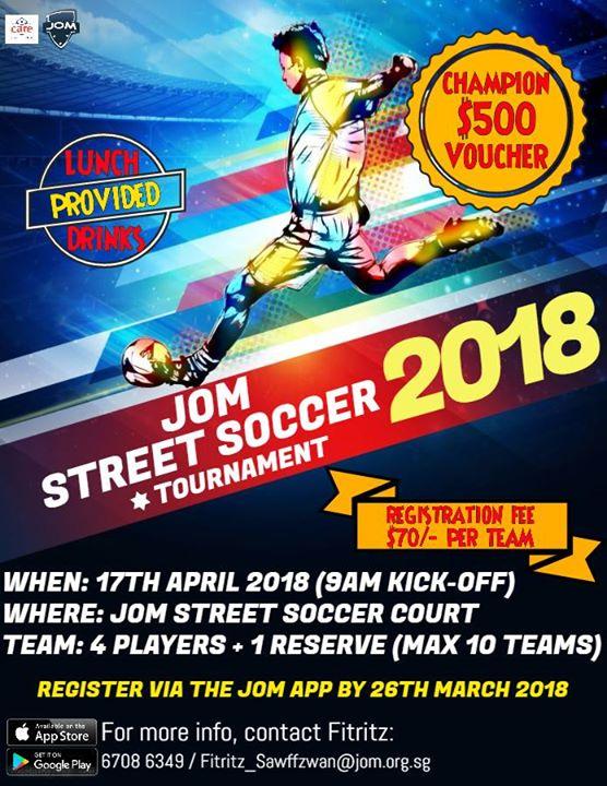 JOM Street Soccer Tournament 2018