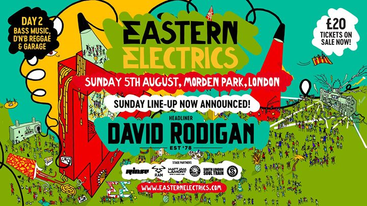 Eastern Electrics Festival Sunday 2018