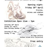 Exhibition of Life Drawing