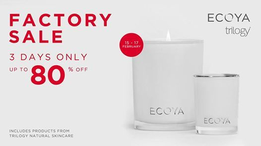 ECOYA and Trilogy Factory SALE