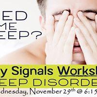 Body Signals Sleep Issues