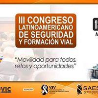 III Congreso Latinoamericano de Seguridad y Formacin Vial
