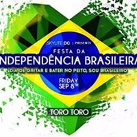 Festa da Independncia Brasileira At Toro Toro - Friday Sept 9th
