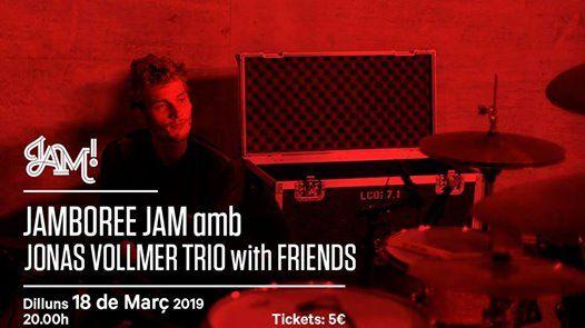 Jamboree Jam amb Jonas Vollmer Trio with Friends