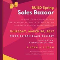 BUILD Spring Sales Bazaar
