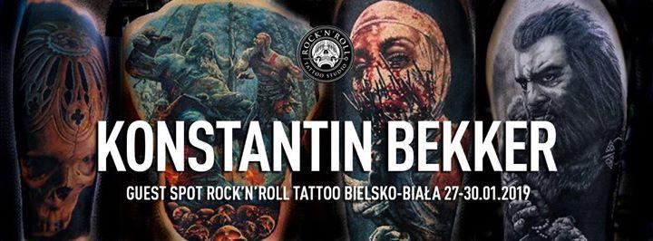 Konstantin Bekker 27-30.01.2019 w RocknRoll Bielsko-Biaa