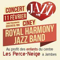 Concert au profit des enfants du Centre Les Perce Neige  Jambes