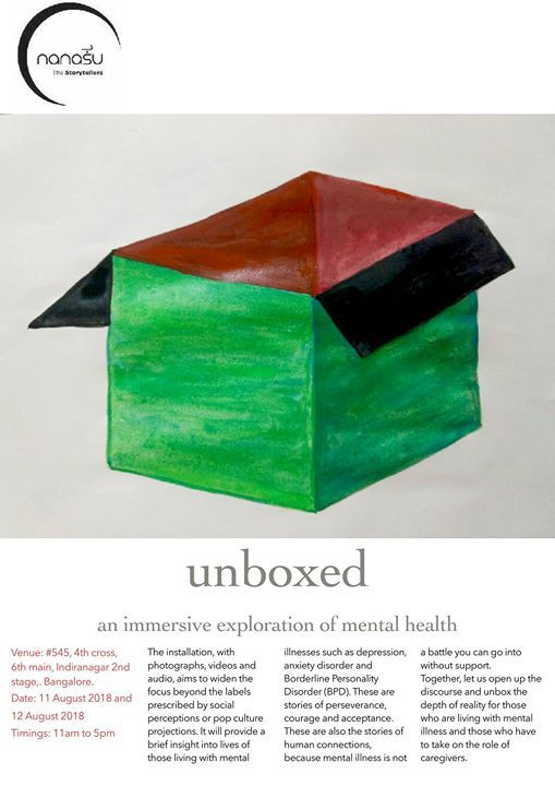 Unboxed. an immersive exploration of mental health