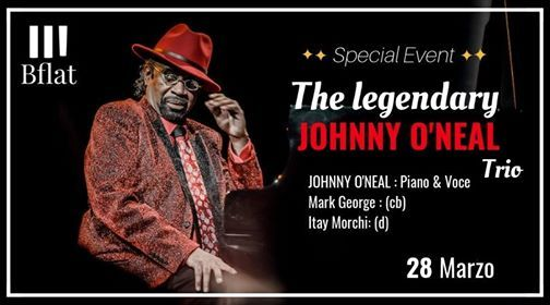 Johnny Oneal Trio Special Event