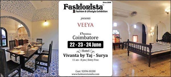Veeya at Fashionista Exhibitions Coimbatore