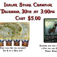 Ixilan Store Champion