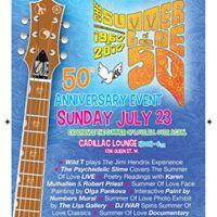 MusicVaultz Presents Summer of Love 50th Anniversary