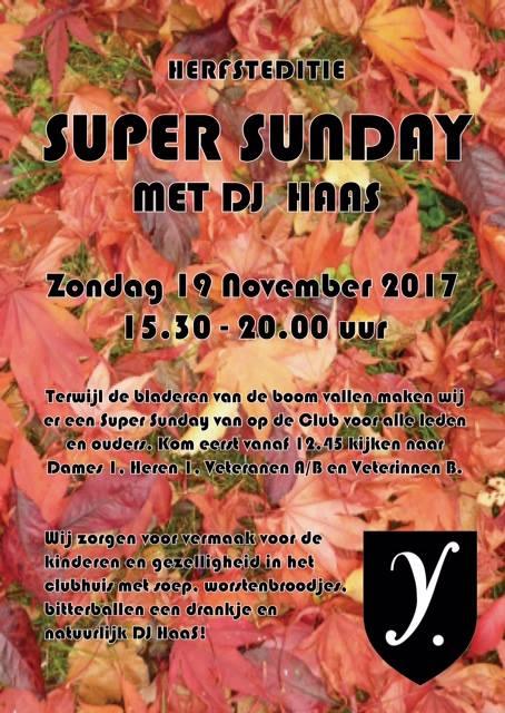 Superrrrrr Sunday - Bitterballen - Soep en DJ HAAS