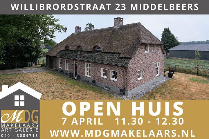 Galerie In Huis : Open huis willibrordstraat middelbeers