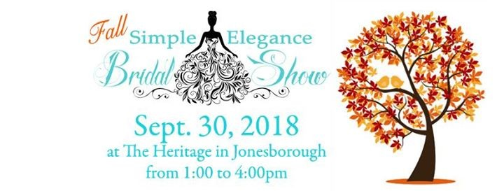 simple elegance bridal show at the heritage tennessee