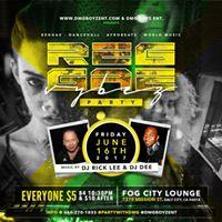 Reggae Vybyz Fridays&quot ReggaePartyDalyCity