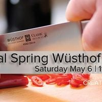 Annual Spring Wusthof Expo