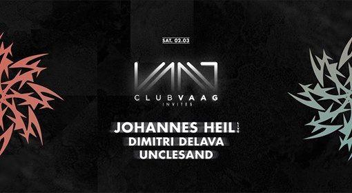 Club Vaag invites Johannes Heil Live