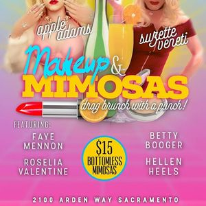 Makeup &amp Mimosas Drag Brunch with a Punch