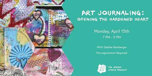 Art Journaling: Opening the Hardened Heart at Studio AM
