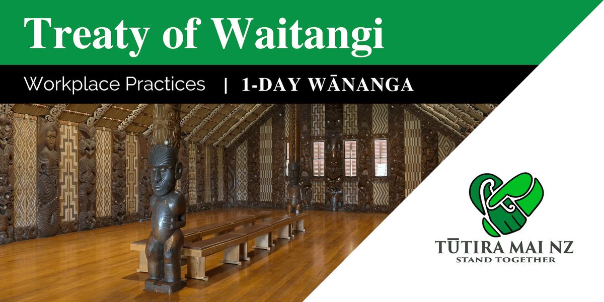 The Treaty of Waitangi in the Workplace Wnanga